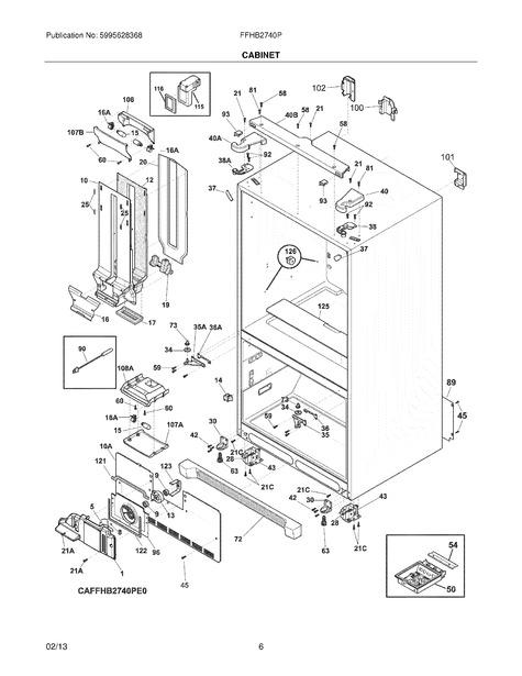 frigidaire ffhb2740ps0 parts list
