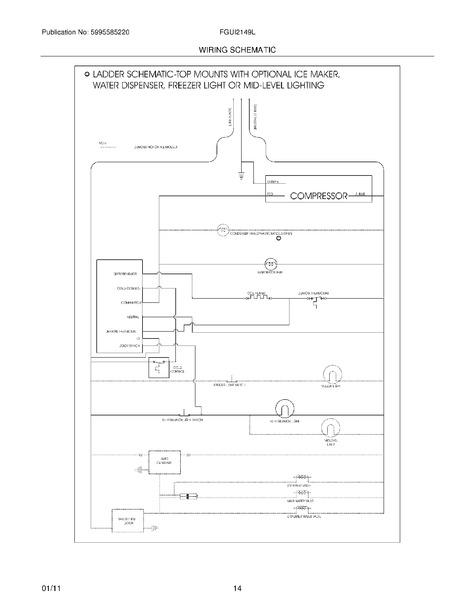 Frigidaire Fgui2149le1 Parts List