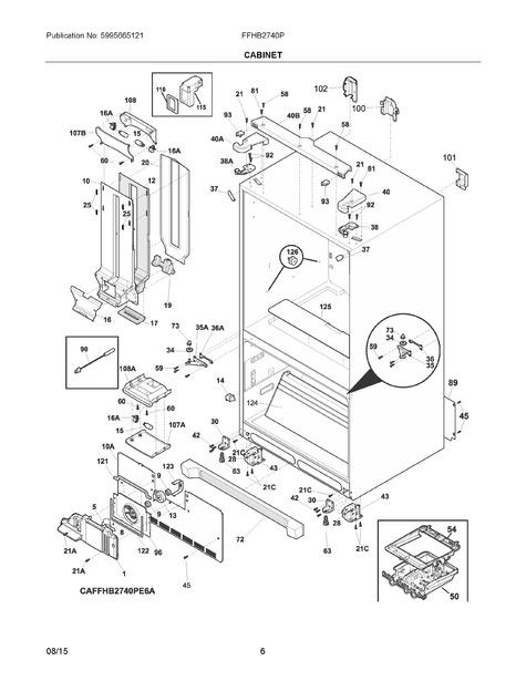 frigidaire ffhb2740pp7a parts list