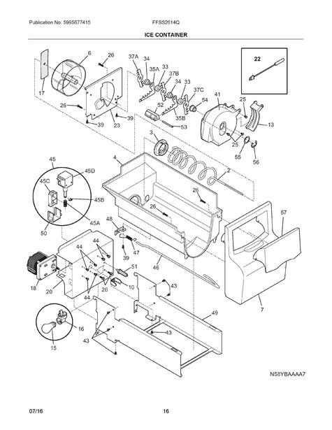 frigidaire ffss2614qs6a parts list