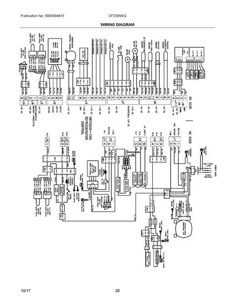 Frigidaire Cfd28wiqwe Parts List