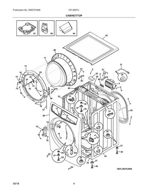 Frigidaire Efls627utt0 Parts List