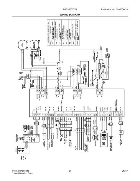 Frigidaire Fgss2635tf1 Parts List