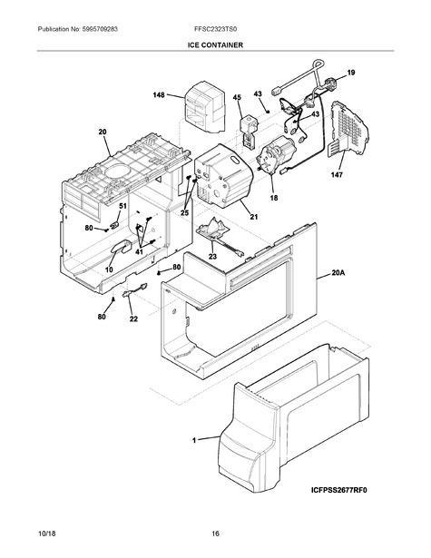 Frigidaire Ffsc2323ts0 Parts List