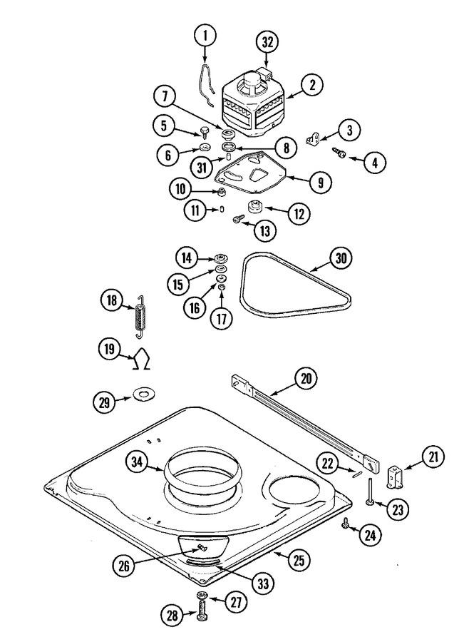 Maytag LATA400ASE Parts List | Coast Appliance Parts on