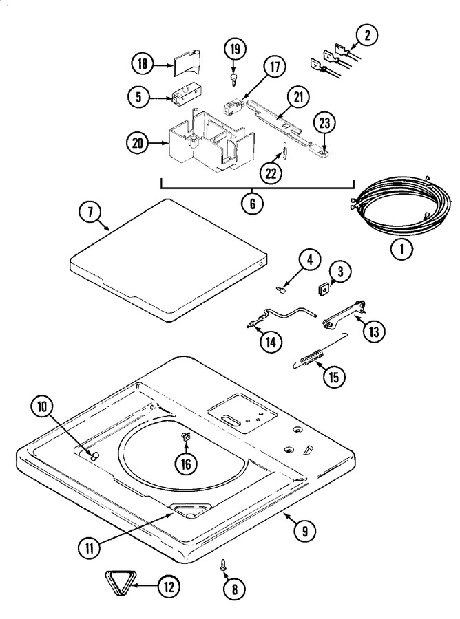 Wiring Diagram Further Whirlpool Washer Lid Switch In Addition Maytag