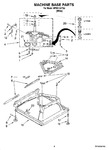 Diagram for 05 - Machine Base Parts