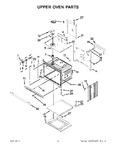 Diagram for 02 - Upper Oven Parts
