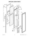 Diagram for 10 - Freezer Door Parts