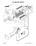 Diagram for 14 - Ice Maker Parts