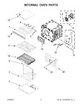 Diagram for 05 - Internal Oven Parts