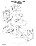 Diagram for 12 - Dispenser Front Parts