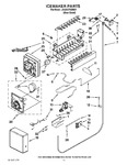Diagram for 13 - Icemaker Parts