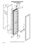 Diagram for 11 - Freezer Door Parts