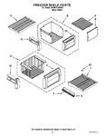 Diagram for 03 - Freezer Shelf Parts