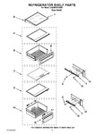 Diagram for 07 - Refrigerator Shelf Parts