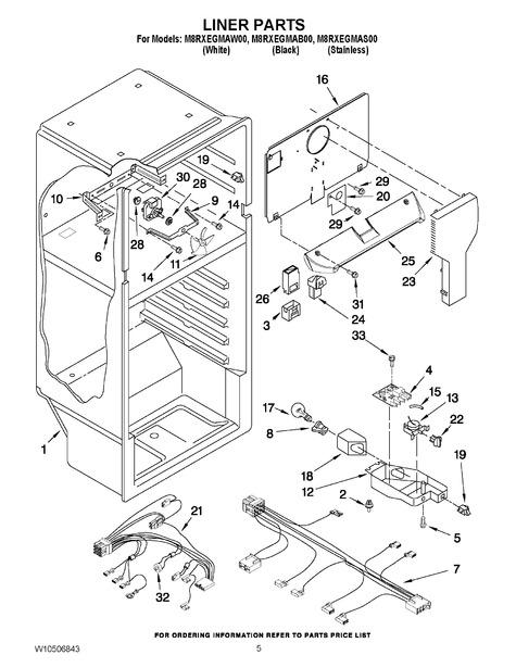 Maytag M8rxegmab00 Parts List