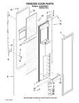 Diagram for 09 - Freezer Door Parts