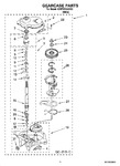 Diagram for 08 - Gearcase Parts