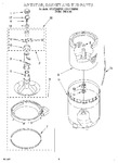 Diagram for 03 - Agitator, Basket And Tub