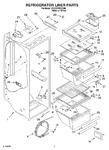 Diagram for 02 - Refrigerator Liner