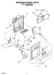 Diagram for 07 - Dispenser Front Parts