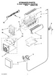 Diagram for 10 - Icemaker Parts