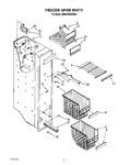 Diagram for 05 - Freezer Liner