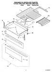 Diagram for 02 - Drawer & Broiler Parts