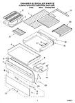 Diagram for 02 - Drawer & Broiler Parts