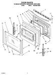 Diagram for 05 - Door Parts, Optional Parts