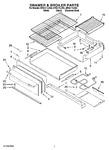 Diagram for 05 - Drawer & Broiler Parts