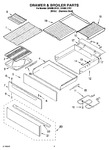 Diagram for 04 - Drawer & Broiler Parts