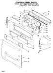 Diagram for 05 - Control Panel Parts