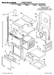 Diagram for 01 - Oven Parts