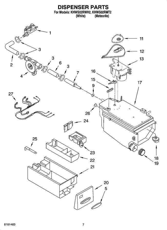 Whirlpool WP8181694 VALVE   Coast Appliance Parts