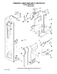 Diagram for 08 - Freezer Liner And Air Flow Parts