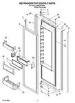 Diagram for 09 - Refrigerator Door Parts