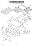 Diagram for 04 - Drawer & Broiler Parts