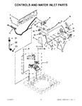 Diagram for 02 - Controls And Water Inlet Parts