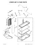 Diagram for 11 - Lower Unit & Tube Parts