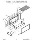 Diagram for 07 - Freezer Door And Basket Parts