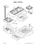 Diagram for 05 - Shelf Parts