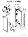 Diagram for 06 - Refrigerator Door Parts
