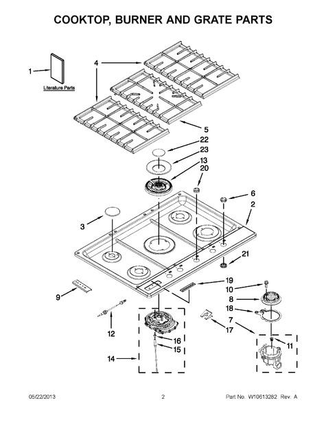 Whirlpool Kfgs306vss04 Parts List