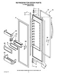 Diagram for 10 - Refrigerator Door Parts