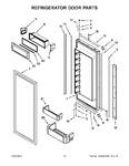 Diagram for 07 - Refrigerator Door Parts