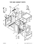 Diagram for 02 - Top And Cabinet Parts