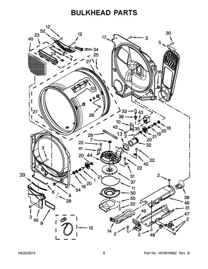 whirlpool wp8544742 belt coast appliance parts