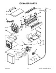 Diagram for 16 - Icemaker Parts